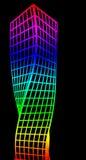 Silhueta arquitetónica e coloração Imagem de Stock Royalty Free