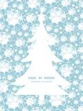 Silhueta brilhante da árvore de Natal dos diamantes do vetor Fotos de Stock Royalty Free