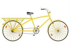 Bicicleta da cauda longa. ilustração do vetor