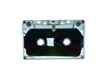 Silhueta da cassete de banda magnética Fotos de Stock Royalty Free