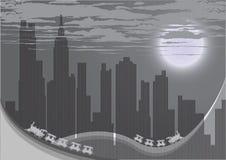 Silhueta da cidade do vetor ilustração do vetor