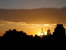 Cidade tornando-se Imagens de Stock Royalty Free