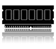 Silhueta de RAM Ilustração Stock