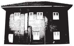 Silhueta do edifício Fotografia de Stock
