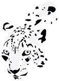Silhueta do leopardo ilustração do vetor