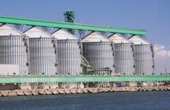 Sili del porto Fotografia Stock Libera da Diritti