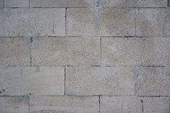 Silicate blocks wall pattern. G Royalty Free Stock Photography