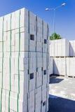 Silicate brick Stock Image