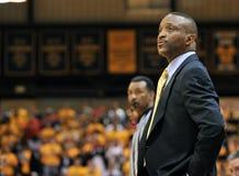 Silice del Bruiser dell'primo allenatore di pallacanestro degli uomini di Drexel Fotografie Stock Libere da Diritti