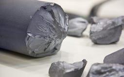Silicium roh Stockfotos