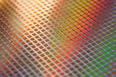 Silicon ICs wafer Royalty Free Stock Image