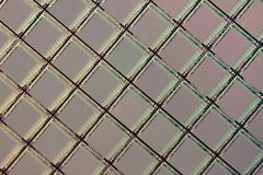 Silicon ICs wafer Stock Photo