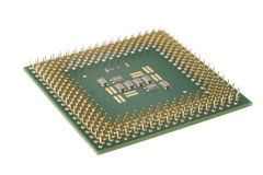 Silicon processor Royalty Free Stock Photo