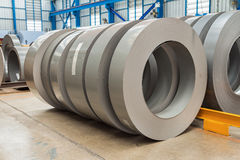 Silicon steel rolls Royalty Free Stock Images