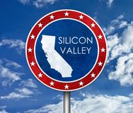 Silicon Valley in California Royalty Free Stock Image