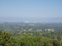 Silicon Valley View Royalty Free Stock Images