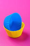 Silicone baking cup Stock Images