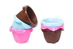 Silicone baking cups Stock Image