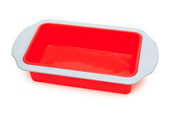 Silicone baking mould Royalty Free Stock Photos