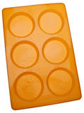 Silicone Baking Pan for Making Muffin Tops Royalty Free Stock Photos