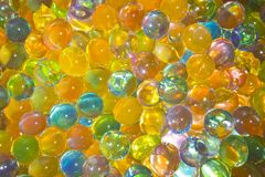 Silicone  balls Royalty Free Stock Images