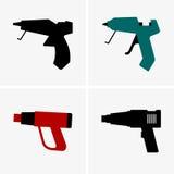 Silicone gun Stock Photo