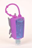 Silicone hand sanitizer holder Royalty Free Stock Photography