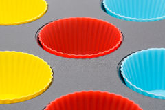 Silicone oven bakeware Stock Images