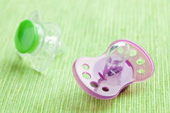 Silicone pacifier Royalty Free Stock Image