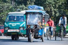 Siliguri transportation Stock Photo