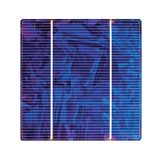 Silikon-Solarzelle Stockfoto