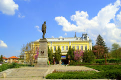 Silistra stadmonument, Bulgarien Royaltyfria Bilder