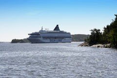 SILJA LINE Royalty Free Stock Photos
