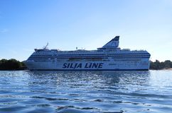 Silja Line cruiseferry Stock Photos