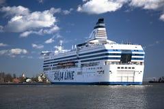 Silja Line färja Royaltyfri Fotografi
