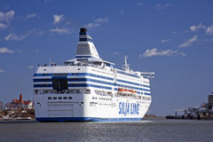Silja Line ferry. The Silja Line ferry sails Stock Photography