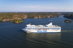 Silja Serenade fotos de stock