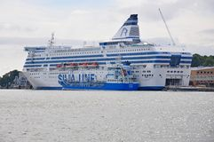 Silja Simphony Royalty Free Stock Images