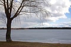 Siljan sjö i Mora sweden arkivfoton