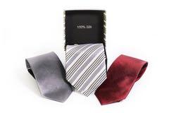 Silk галстуки Стоковая Фотография
