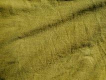 Картина предпосылки текстуры Шелк ткани хаки, зеленый, серый цвет поля Задрапируйте, drapery стоковое фото