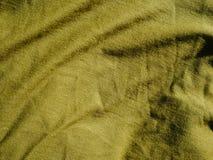 Картина предпосылки текстуры Шелк ткани хаки, зеленый, серый цвет поля Задрапируйте, drapery стоковое фото rf