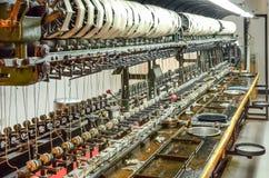 Silk фабрика в Шанхае, Китае Стоковое Изображение RF