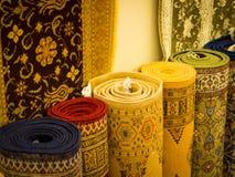 Silk фабрика ковра Стоковое фото RF