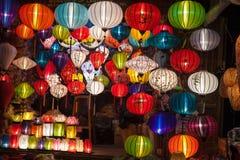 Silk фонарики в Hoi город, Вьетнам Стоковые Фото