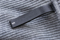 Silk ярлык Стоковое фото RF