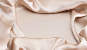 Silk. Royalty Free Stock Image