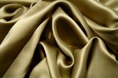 Silk. Closeup of ripples in silk fabric stock photos