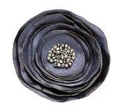 Silk artificial textile flower Royalty Free Stock Image