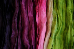 Silk as Abstract Background Royalty Free Stock Photos